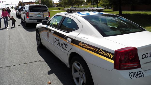 Montgomery County police cruisers will be a more frequent sight near commercial areas over the holidays.