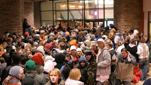 Black Friday crowds are good for local economies, and officials encourage them, within reason.