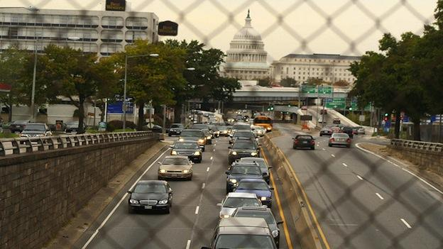 Commuters in the D.C. Metro area waste a whopping 67 hours per year sitting in traffic.
