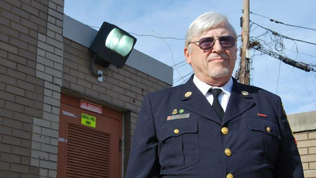 DCFD Lieutenant Jim Embrey (retired) serves as the department's historian, and is documenting its transition from horse-drawn to motorized firefighting vehicles.