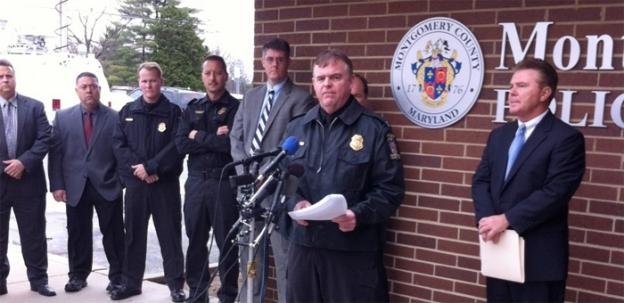 Montgomery County Assistant Police Chief Russell Hamill explains how the release of the surveillance video led to the arrest of Henry Levi Sanders.