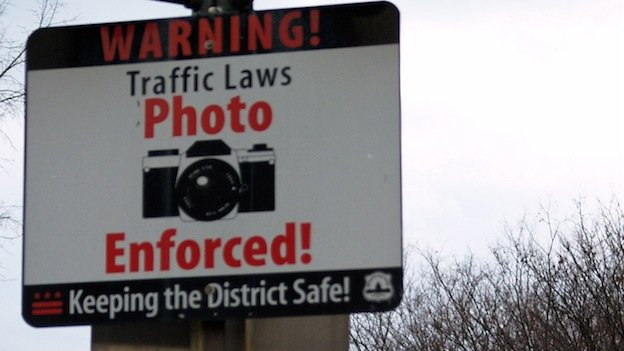 Traffic cameras bring in about $100 million per year in the District.