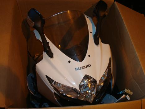 Federal customs officers say they ended a motorcycle theft ring and recovered eight stolen from Maryland and Virginia. The motorcycles had been disassembled, stuffed into salvage vehicles and packed on ships headed for Bolivia.