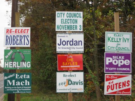 Nine candidates are vying for seven city council seats in Greenbelt.