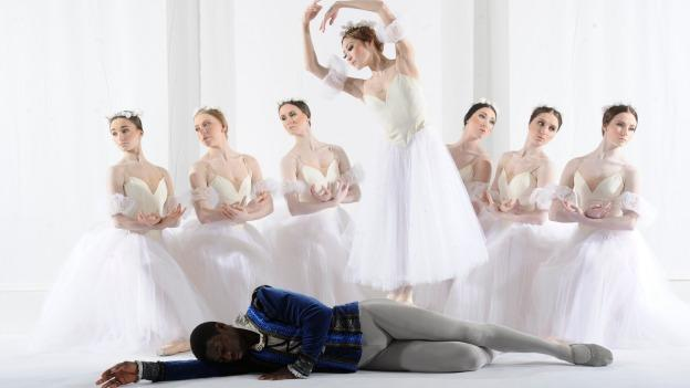 Brooklyn Mack and Maki Onuki star in The Washington Ballet's performance of Giselle.