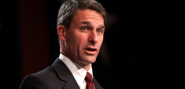 Virginia attorney general Ken Cuccinelli is trailing his Democratic counterpart in the polls.