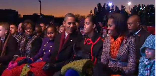 The White House is all set for the lighting of the 2011 National Christmas Tree.