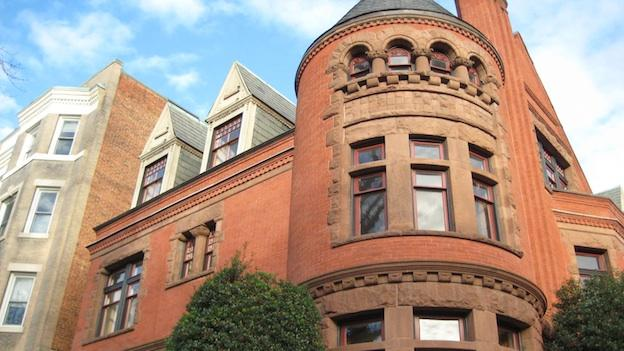 The Romanesque house at 1623 16th Street NW has a colorful, and tragic, history.