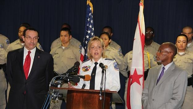 "D.C. Police Chief Cathy Lanier talks about a new policy that allows cell phone users to ""brick"" their stolen smart phones."