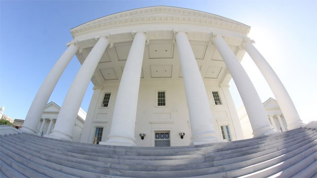 Control of the Virginia State Capitol is still very much in the air.