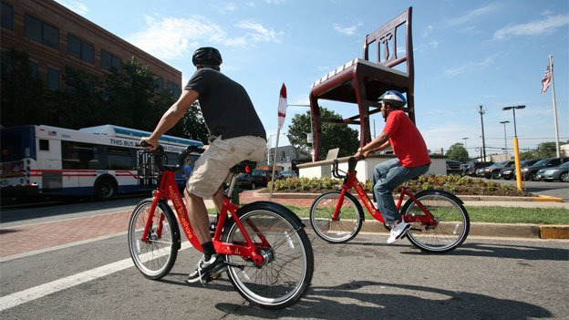 Cycling and mass transportation are supplanting cars among travel options for D.C. workers.