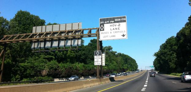 Construction on expanded high occupancy toll lanes is expected to begin within a few months.