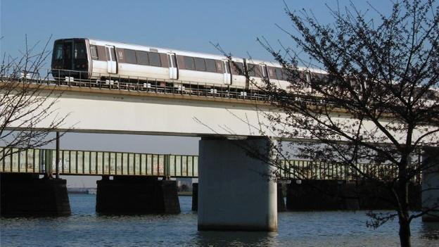 Work on the Yellow Line bridge will cut off the Yellow Line at Pentagon.
