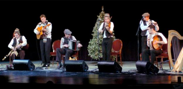 If you like a little Irish in your Christmas the Grosvenor Auditorium has you covered this December.