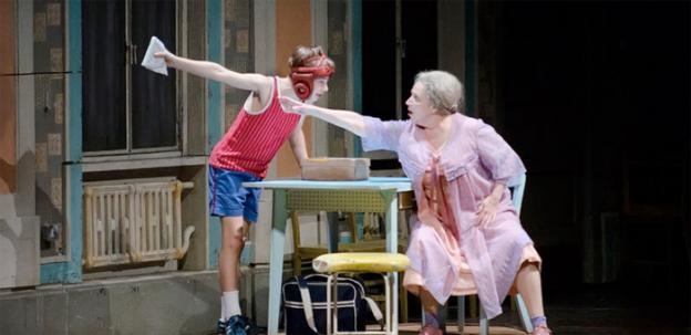 Former pugilist Billy Elliot throws all sorts of graceful shapes at the Kennedy Center beginning today.