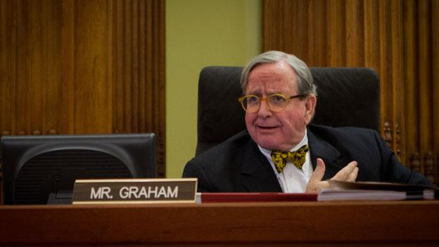 Council member Jim Graham, who has been accused of ethics violations for a deal with a developer in 2008.