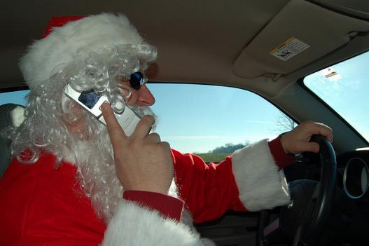 Driving while on a cell phone is known to significantly impair reaction times.