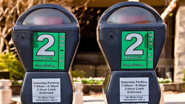 Parking meters in Washington, D.C.