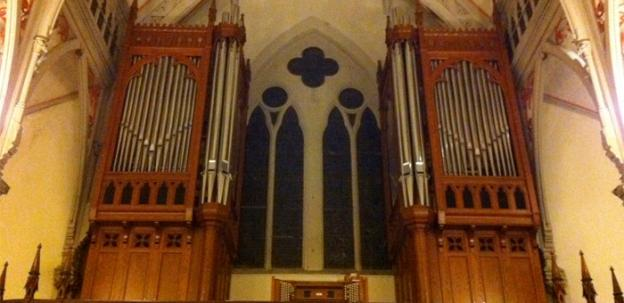 The Letourneau organ which was damaged is impossibly complex, with more than 3,000 pipes.