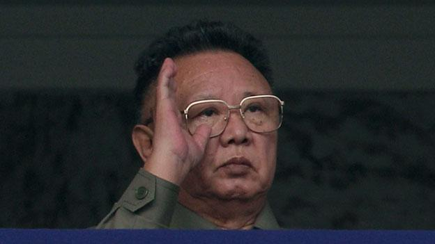 North Korean Leader Kim Jong Il pictured in 2010. The 69-year-old head of state died of a heart attack over the weekend, according to Korean state media.