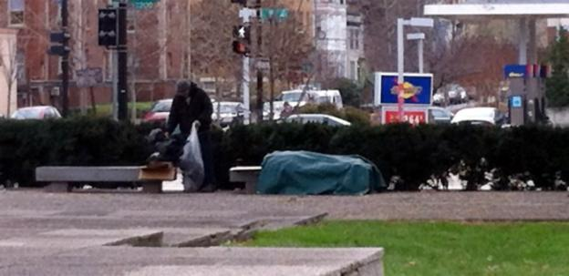 Cold spells are felt the hardest in the D.C. area's homeless population.