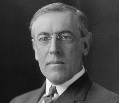 President Woodrow Wilson, a Virginia native, would be celebrating his 155th birthday today.