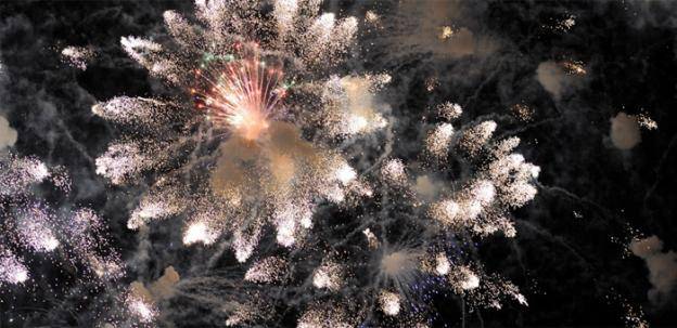 The region's venues make their own fireworks to bring in 2012.