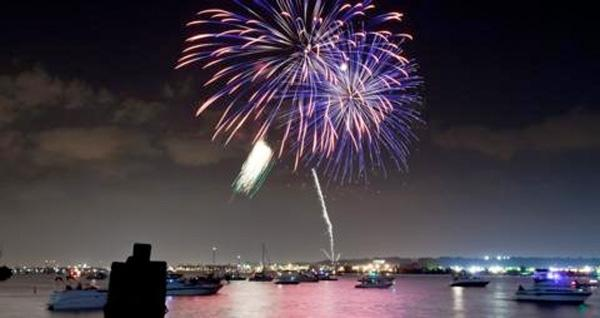 This year the fireworks return to the First Night Alexandria New Year's Eve Bash.