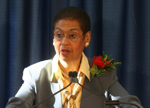 D.C. delegate Eleanor Holmes Norton fired off a letter blasting Republicans for meddling in local issues.