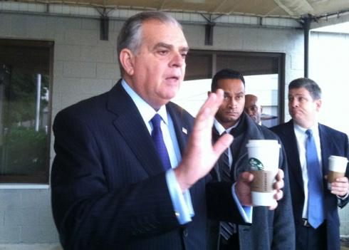 U.S. Secretary of Transportation Ray LaHood praised the Metropolitan Washington Airports Authority for improving its hiring and contracting practices. LaHood said this progress makes him optimistic the agency will receive a federal loan to fund the $5.5 billion Silver Line project.