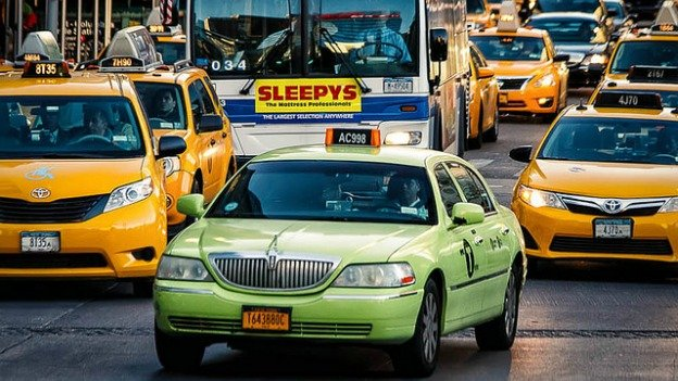In New York City, green-colored taxicabs serve the outer buroughs, a system D.C.'s new taxicab chief says he wants to adopt.