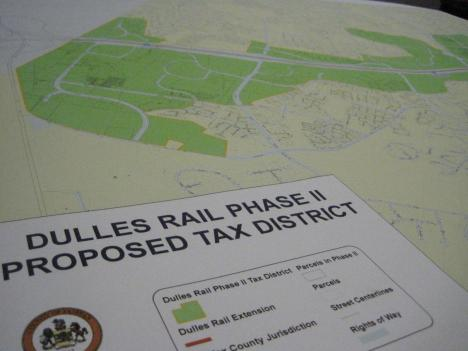 Fairfax County is close to final approval for a special tax district in the western part of the county. If approved, the tax district is expected to raise $330 million.