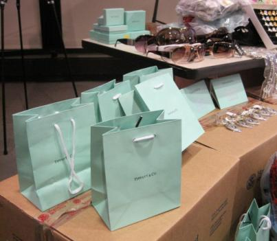 U.S. Immigration and Customs Enforcement put on display a sample of the 700,000 counterfeit items that were seized during Operation Holiday Hoax -- a week-long nationwide crackdown on the illegal retail trade which netted nearly $1.7 million worth of counterfeit items in the D.C. area.