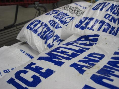 Snow supplies are in high demand as people prepare for this weekend's snowstorm.