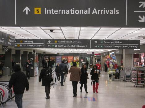 Some international passengers flying into Dulles say the is increased security caused delays and missed flights.