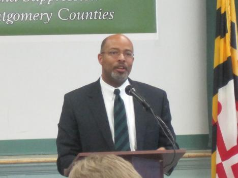 Glenn Ivey, Prince Georges County state attorney.