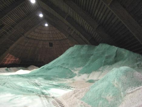 DDOT will use salt from the Farragut Street Salt Dome to keep streets safe in the snow and ice.