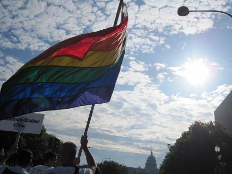 One Congressman attempts to overturn D.C. gay marriage bill.