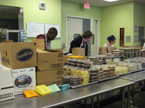 Volunteers and staff at Food & Friends have been working around the clock to deliver food in the winter weather.