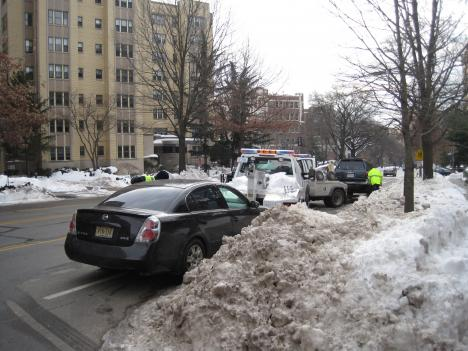 Clearing Connecticut Avenue, a snow emergency route, is no easy task.