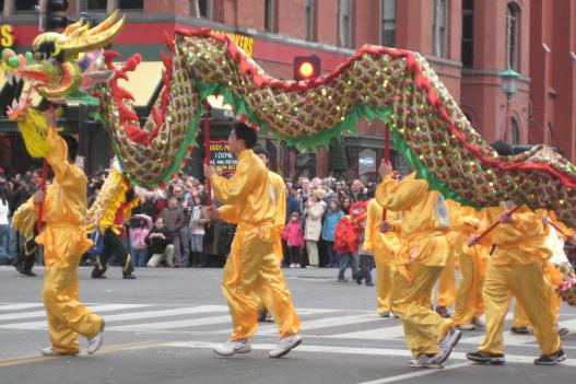 Chinese culture is on parade during the Year Of The Tiger celebrations in Chinatown.