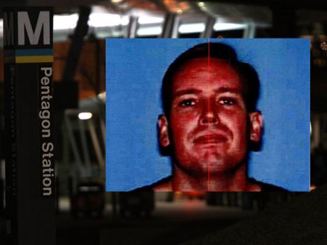 Undated FBI photo of John Patrick Bedell, the gunman who was killed in a shootout with police officers at the Pentagon Metro station.