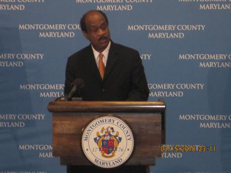Montgomery County Executive Ike Leggett calls for a $4.3 billion funding plan for FY 2011.