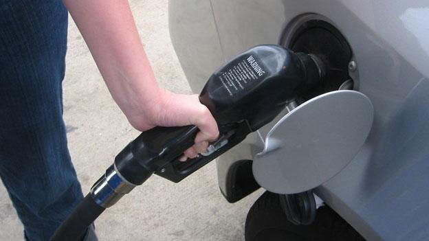 A sales tax on the wholesale price of gasoline would generate more revenue than a flat gas tax.