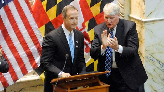 During his State of the State address on Wednesday, Governor Martin O'Malley chose to focus on the gas tax.