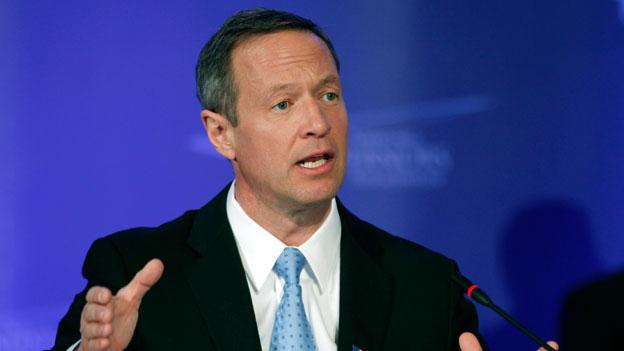 Maryland Gov. Martin O'Malley speaks at the National Governors Association meeting in Washington Feb. 26.