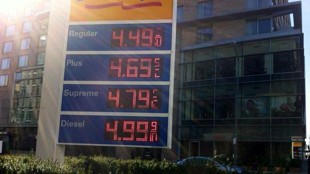 AAA Mid-Atlantic is seeing high gas prices in the D.C. region for this time of year.
