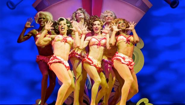 Music, comedy and cross-dressing take center stage in La Cage aux Folles.