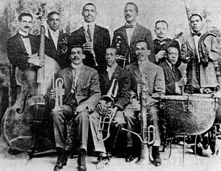 "An early ""danzon"" group, circa 1908."
