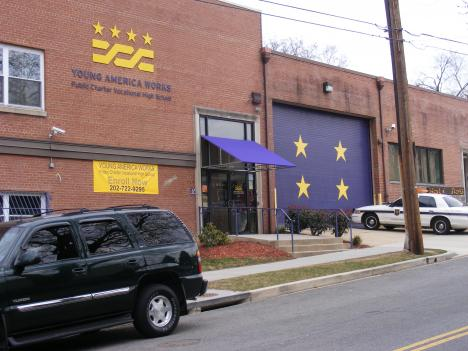 Public Charter School Board members say scores are low and fights are frequent at Young America Works Public Charter School in Northeast D.C.